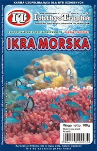 IT-Ichthyo Trophic Ikra ryby morskiej 100g