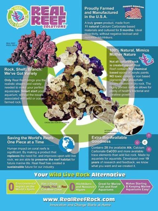 Ekologiczna skała Real reef rock