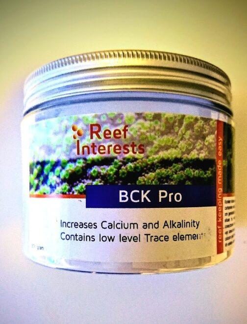 Reef interests BCK Pro 500g
